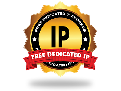 A free Dedicated IP address